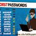 25 Daftar Password yang Paling Sering digunakan