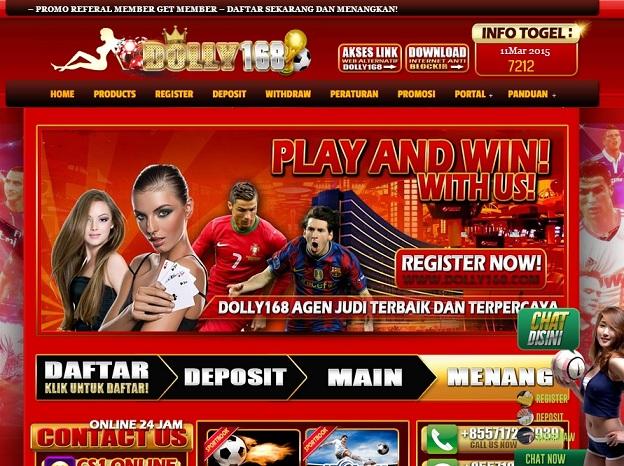 Situs Agen Bola Online Dolly168.com