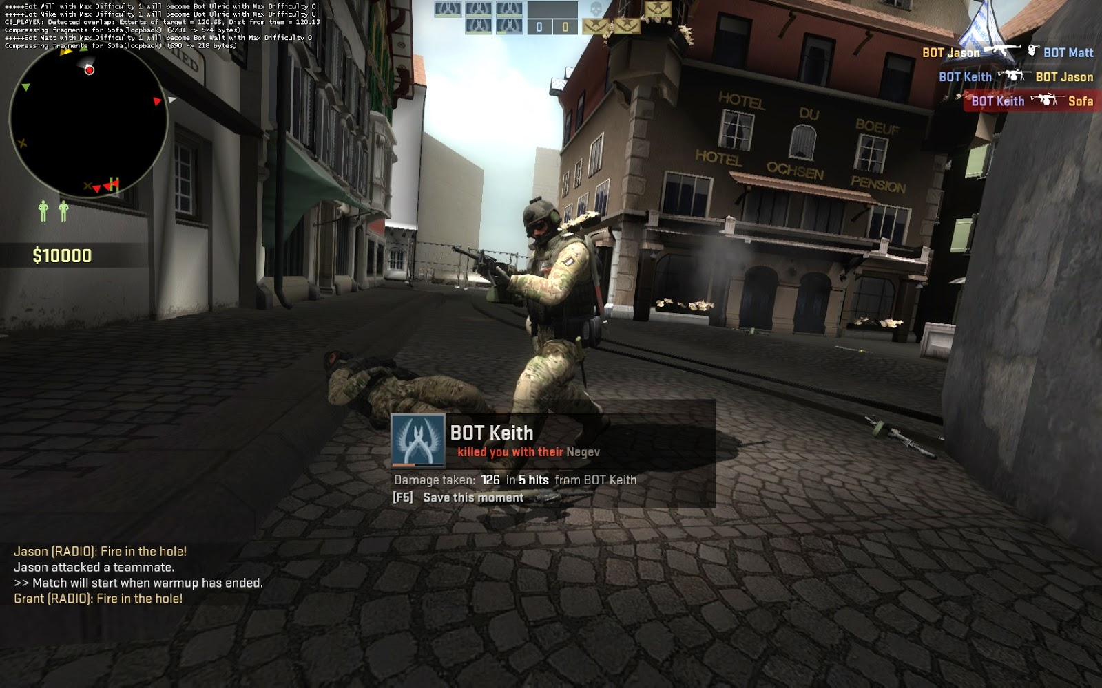 so i began by using settings from other csgo style maps and seeing how they looked in our level however i decided to click the final run settings and