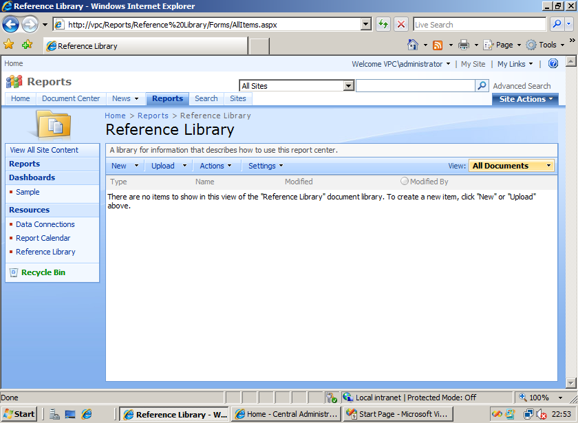 library reference: