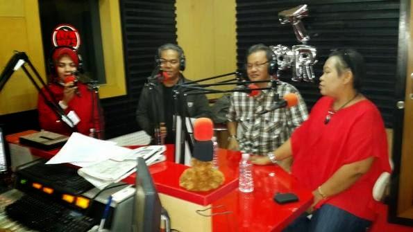 Penggerak PKK Gedebage dan Ranum Jadi Narasumber di PRFM 107.5 Bandung