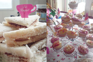 Tea Party Sandwiches by The Party Times