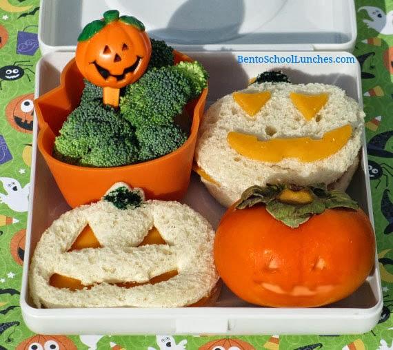 Jack O' Lantern Halloween Bento