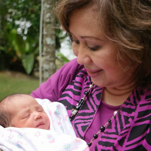 Gambar Terkini Putri Raysha Jemaima Anak Fasha Sandha ...
