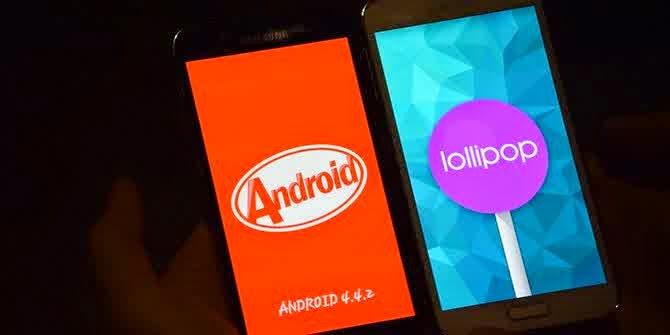 7 Alasan Android KitKat Lebih Mantab Daripada Android Lollipop