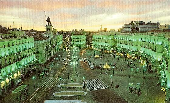 Life is worth running for raising awareness in madrid for Plaza puerta del sol