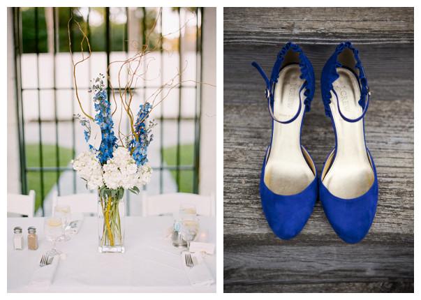 royal blue shoes