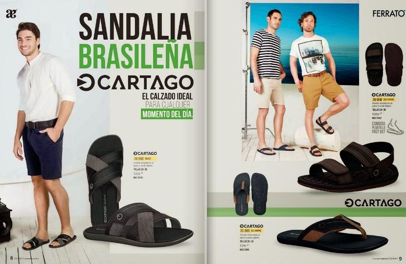 Catalogo Andrea ferrato caballero calzado primavera 2015