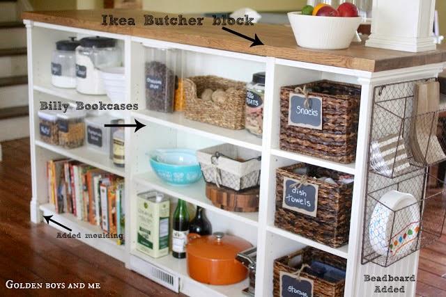 Ikea Faktum Abstand Zur Wand ~ Billy Bookshelves Kitchen Island  IKEA Hackers  IKEA Hackers