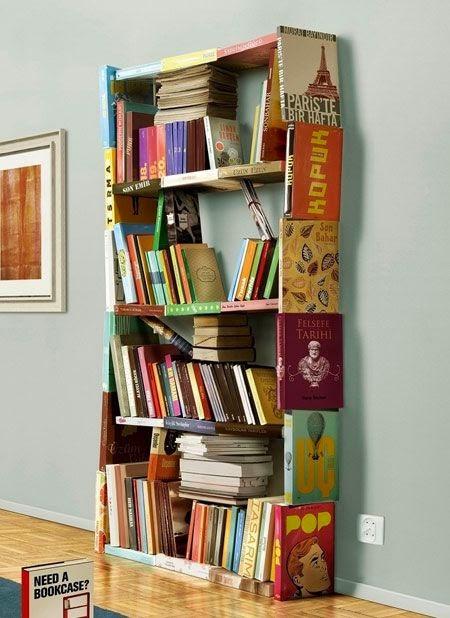 Учебники в интерьере