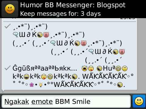 BBM smiley :: Download Gratis Symbol AutoText BlackBerry Messenger
