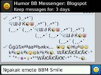 Ngakak emote BBM smiley :: Download Gratis Symbol AutoText