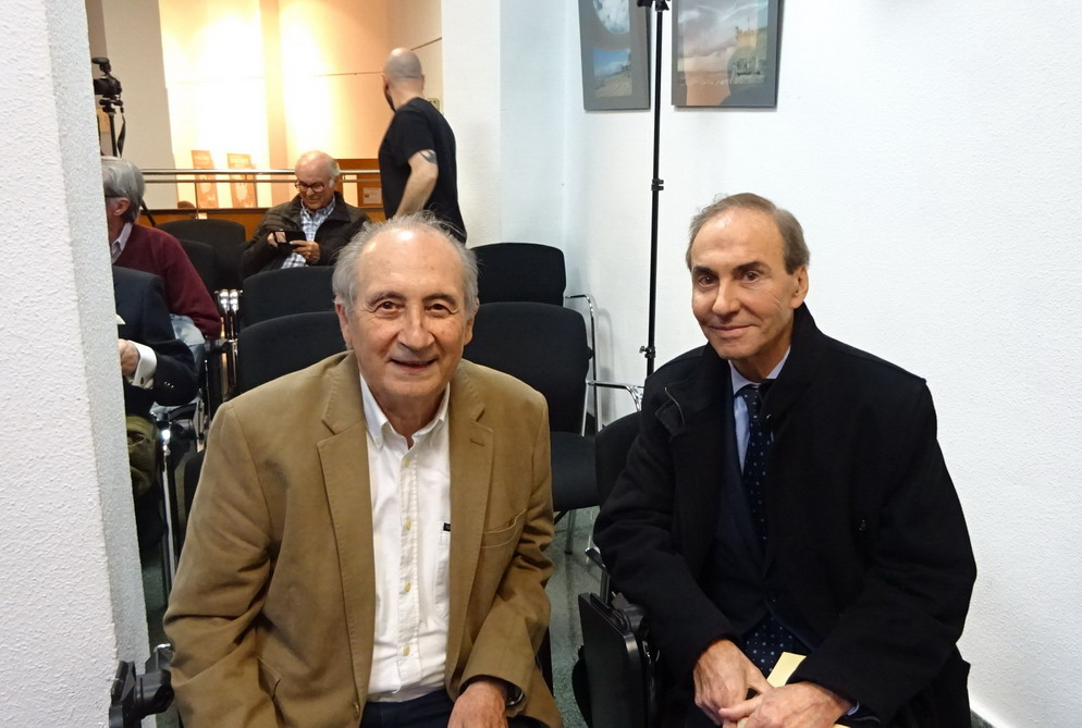 Vicente Ramos Moya y Ramón Palmeral