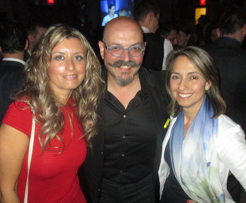 Chef Massimo Capra and my sister-in-law Lucy Langstaff