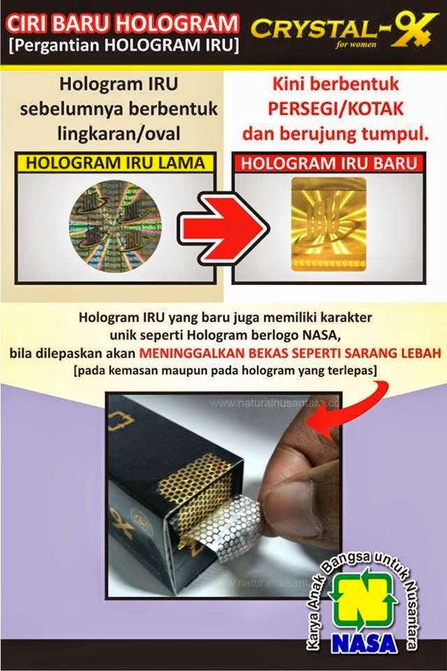 hologram crystal x asli nasa