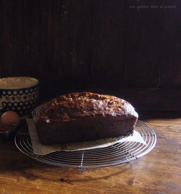 Cinnamon Toffee Banana Bread | une gamine dans la cuisine
