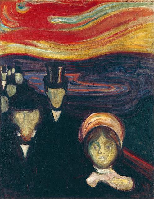 """Э. Мунк. """"Тревога"""" (1894)"""