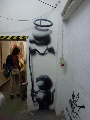Streetart, Urbanart, Graffiti, Wandmalerei