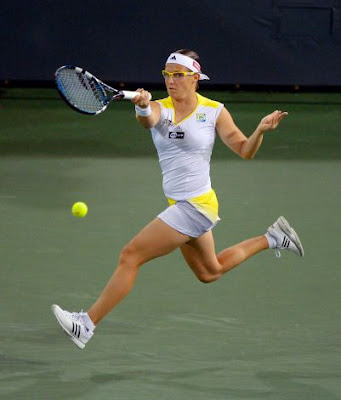 Kirsten Flipkens in Action 2013