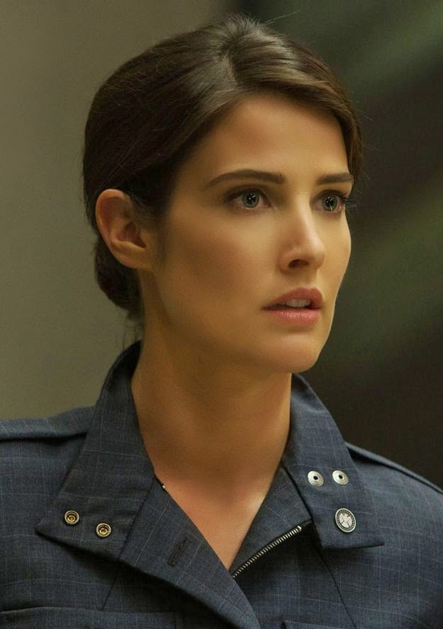 beauty of Maria Hill Captain America