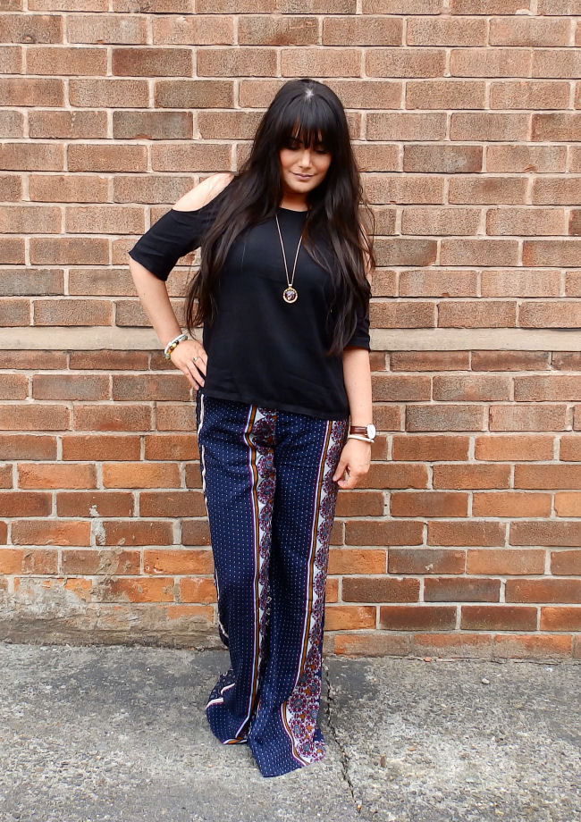 transitional boho fashion with flares