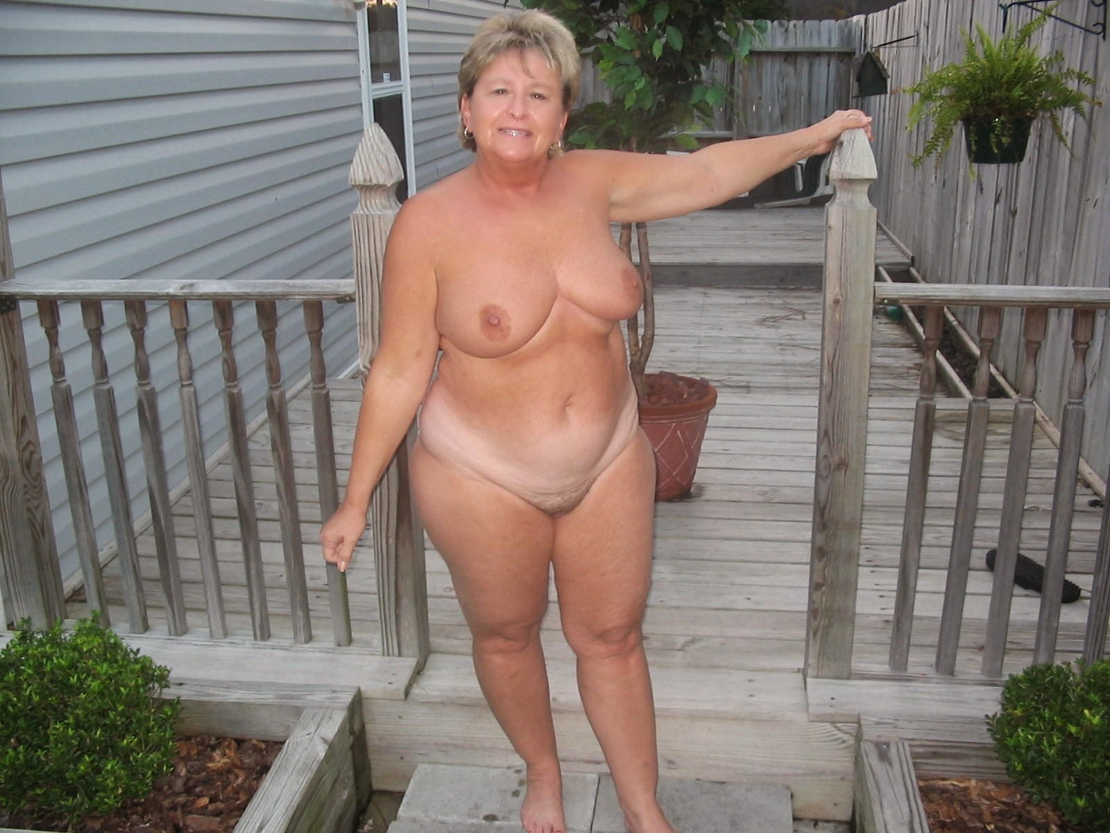 Too Granny sleep nude