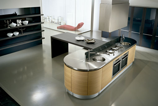 Modern kitchen design ideas modern kitchen island for Cheap modern kitchen designs