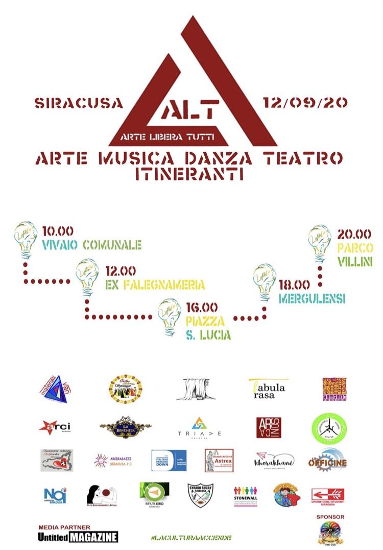 EVENTO - ALT. Arte Libera Tutti. Collettivo LightsOn
