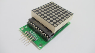 Módulo matriz de leds 8x8 Arduino
