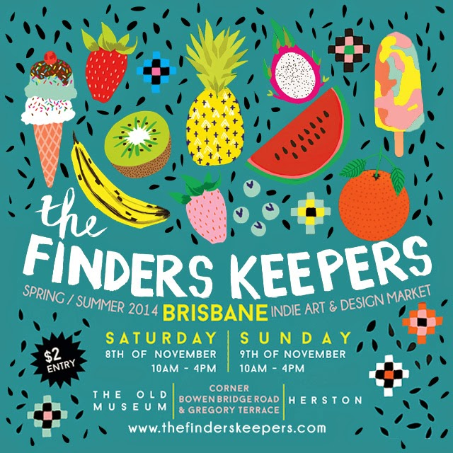 I'll be at Finders Keepers!