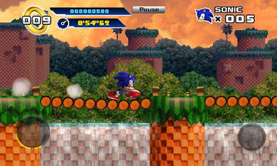 Sonic The Hedgehog 4 v1.3 Episode 1 APK + DATA Android zip market google play