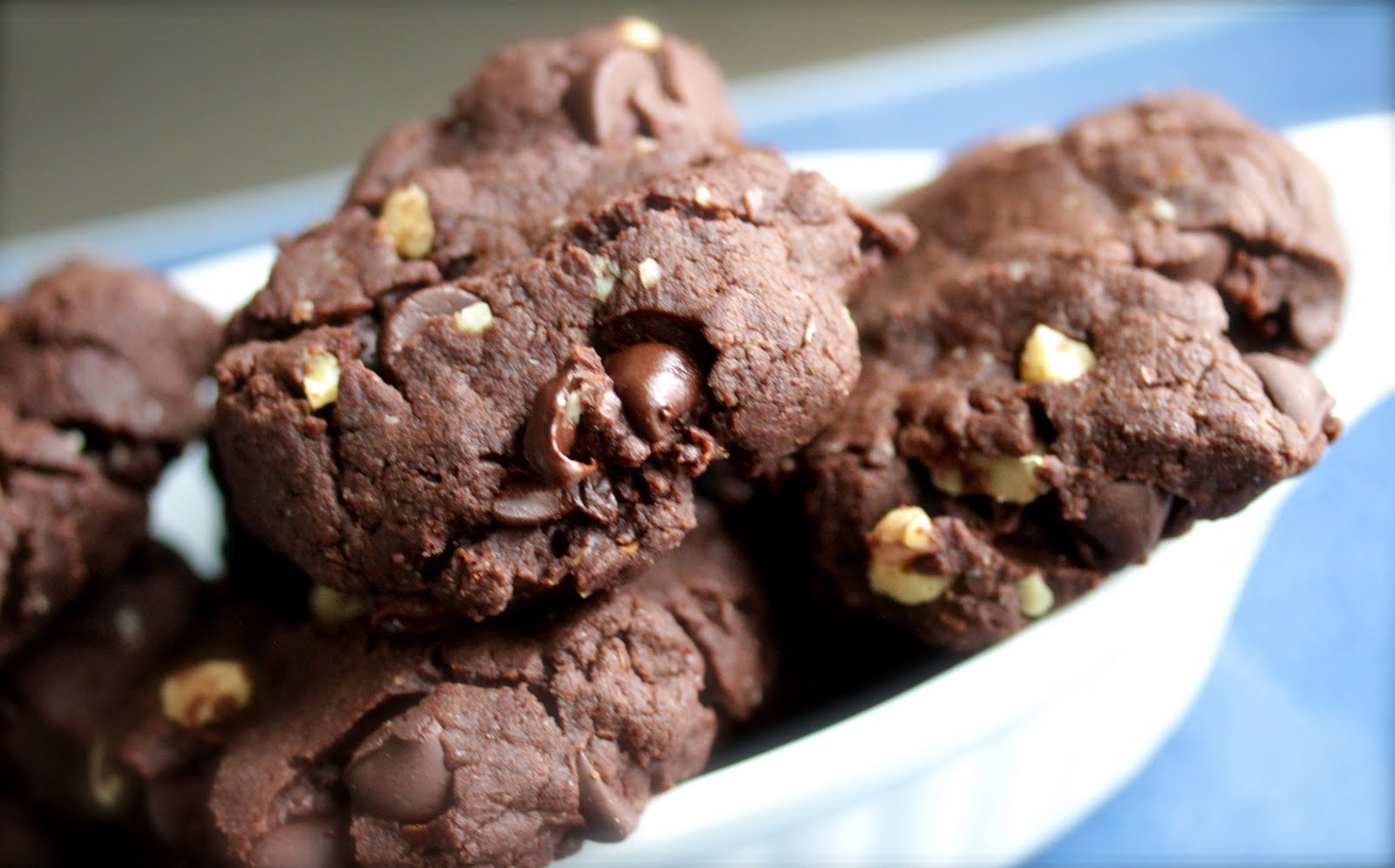 Chocolate-Chocolate Chip Walnut Cookies: Veganomicon: The Ultimate ...