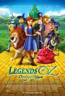Legends of Oz Dorothy's Return poster