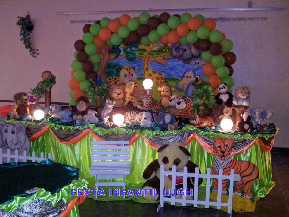 Tema da floresta Baby para decoração de festa infantil