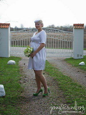 Brudklänning StinaP fotograf Jenny Sandberg sidensatin