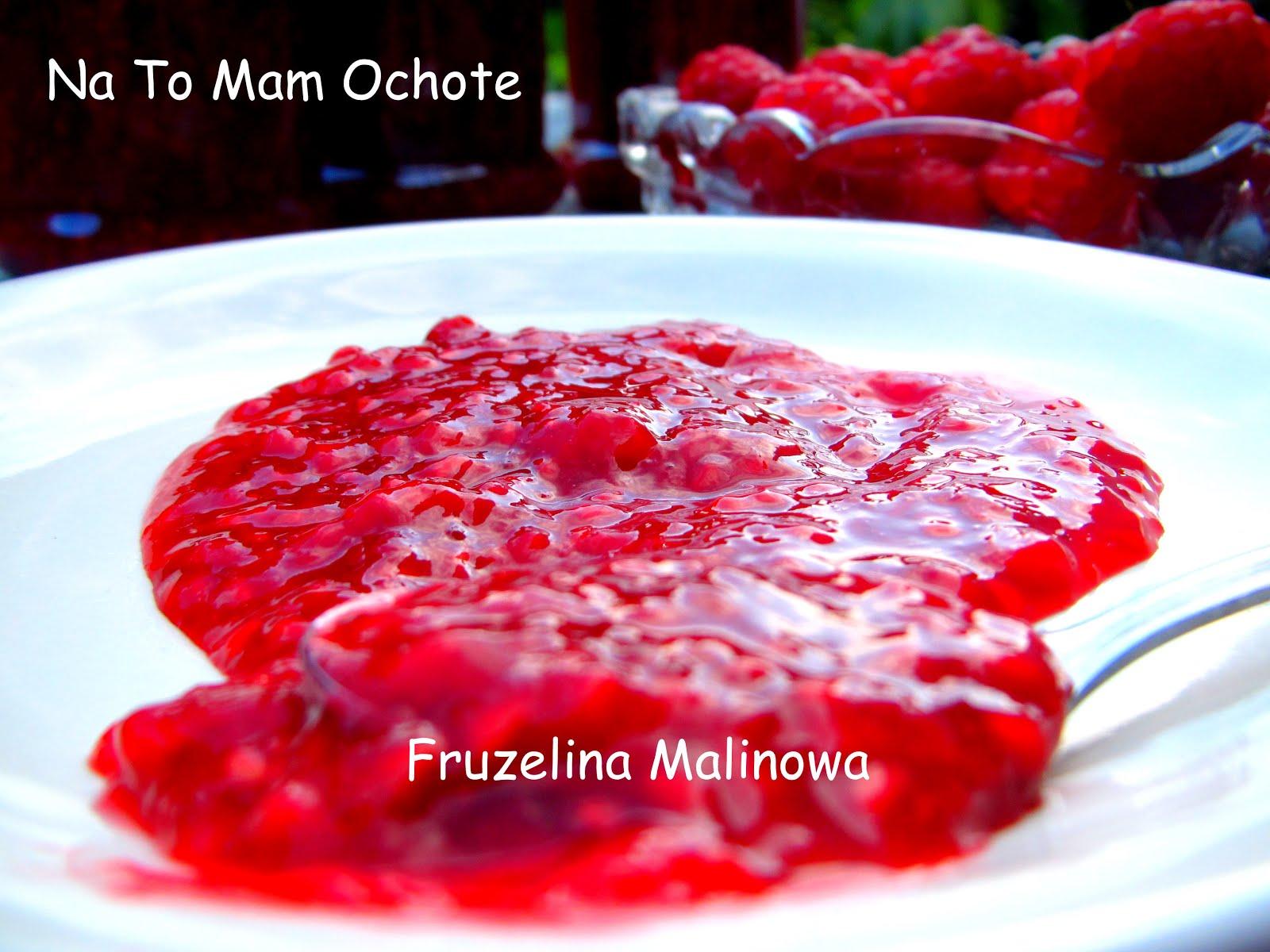 Frużelina Malinowa - Owoce w Żelu