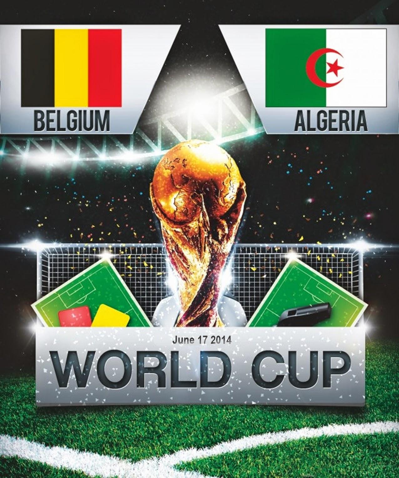 FIFA Wolrd Cup 2014 - Belgium Vs Algeria
