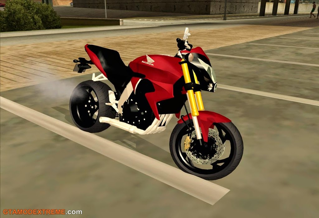 Baixar moto Honda CB1000R Para GTA San Andreas