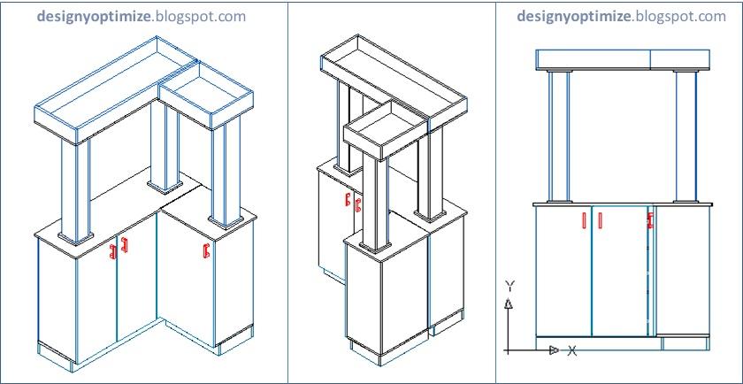 Diseño De Muebles Madera Creación de MiniBar Madera  Con Barra