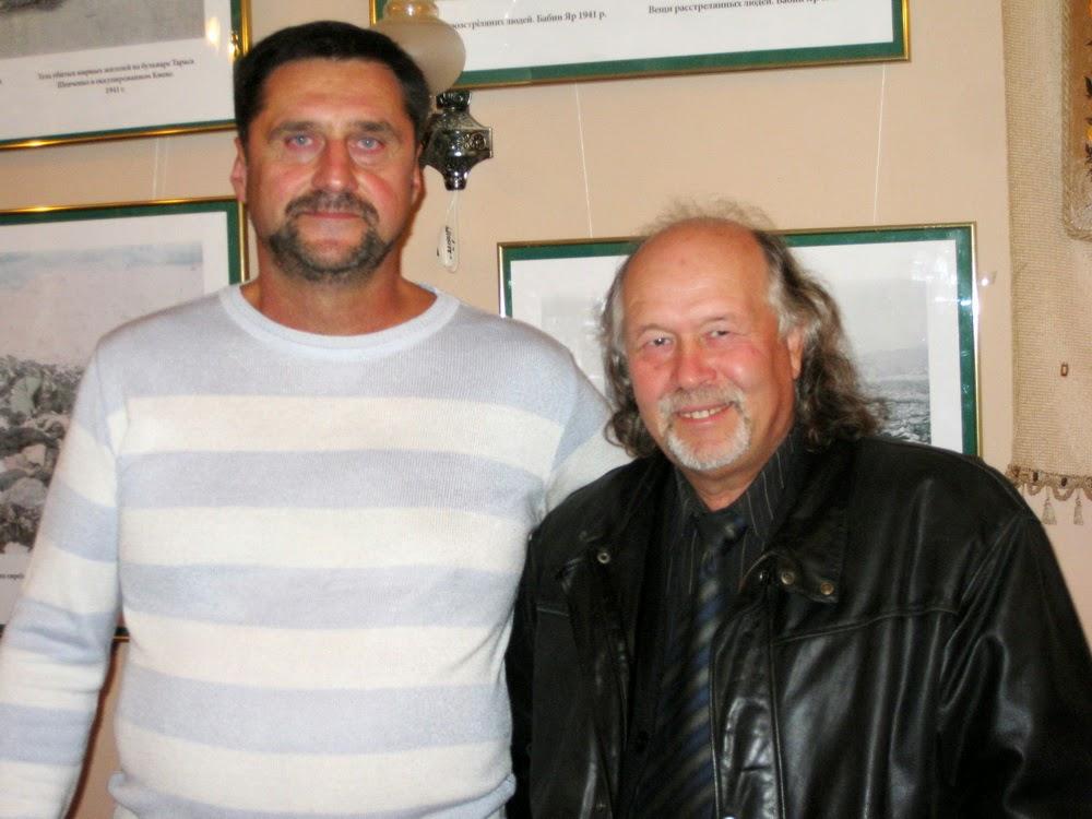 Сергей Пономаренко слева и Виталий Бабенко