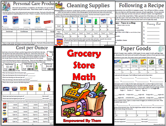 Empowered By THEM: Grocery Store Math