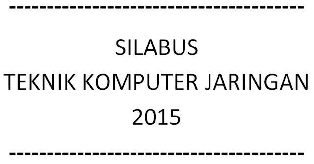 Download Silabus Merakit Personal Komputer KTSP 2015