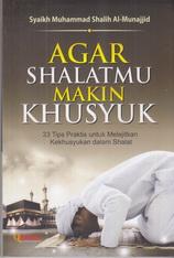 agar shalatmu makin khusyu rumah buku iqro toko buku online buku islam