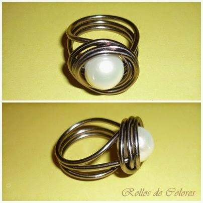 anillo alambre aluminio