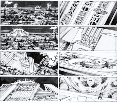 Storyboard - Blade Runner - Los Angeles 2019