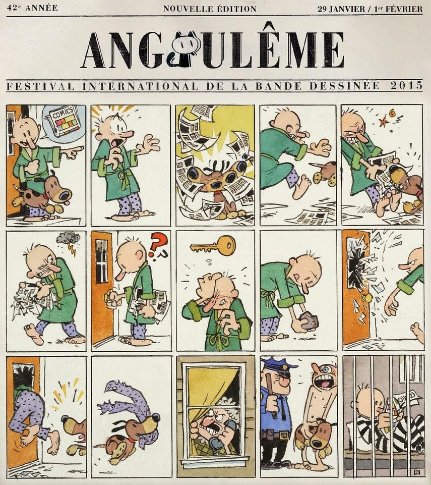+ d'infos sur le FIBD d'Angoulême - 29, 30, 31 janvier et 1er février 2015