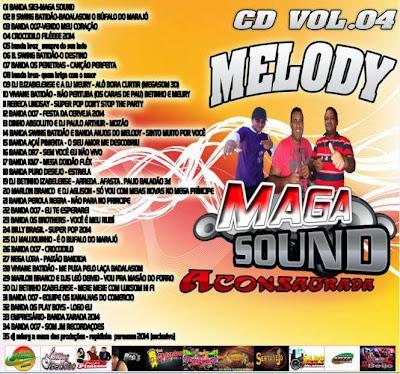 CD DE MELODY DA MAGA SOUND ACONSAGRADA VOL.04 05/06/2014