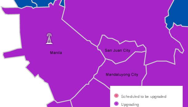 Globe 4G Signal Metro Manila