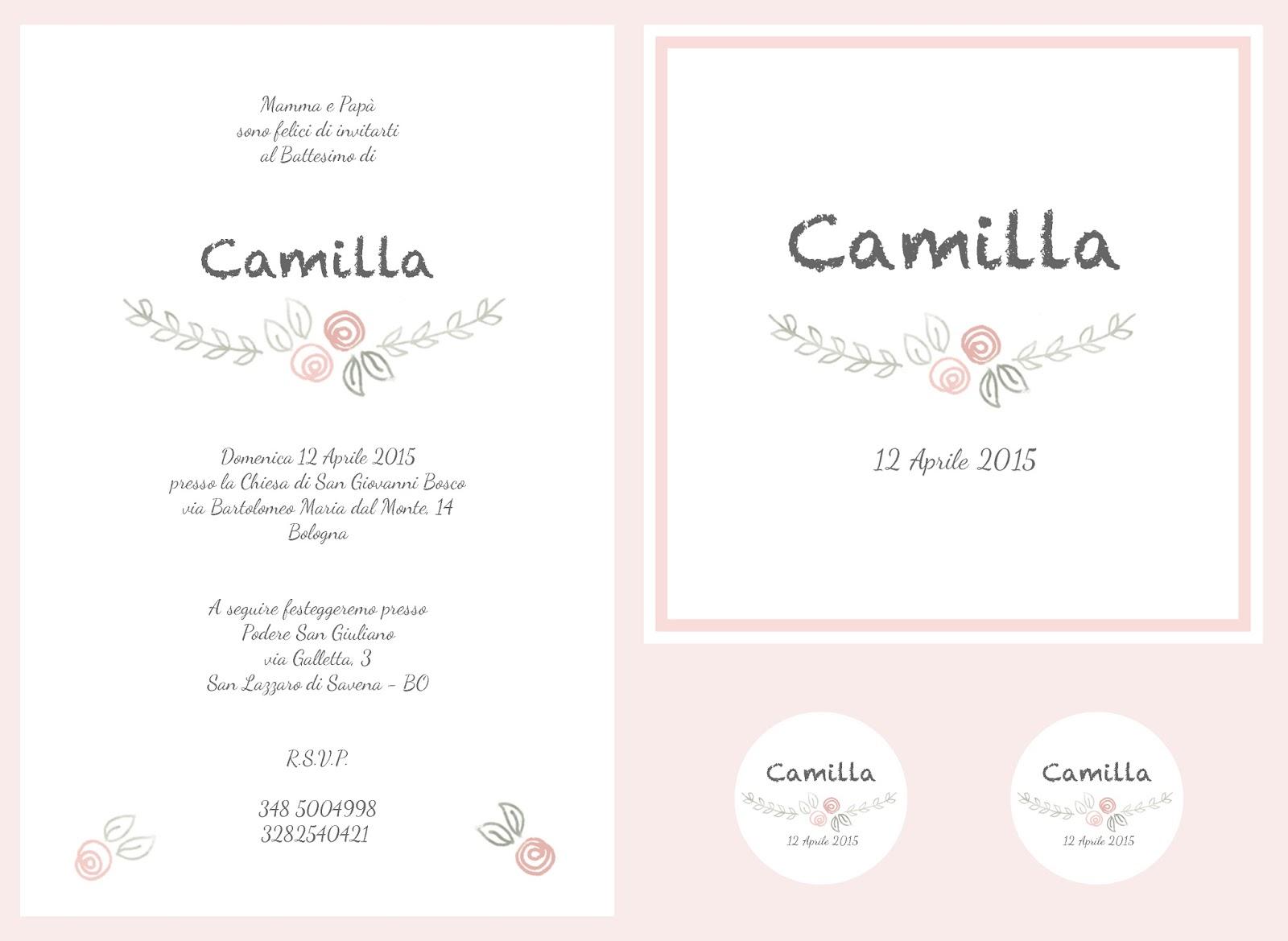 Favorito Avoriophoto: * Avoriopaper - Grafica per il Battesimo di Camilla * QF87