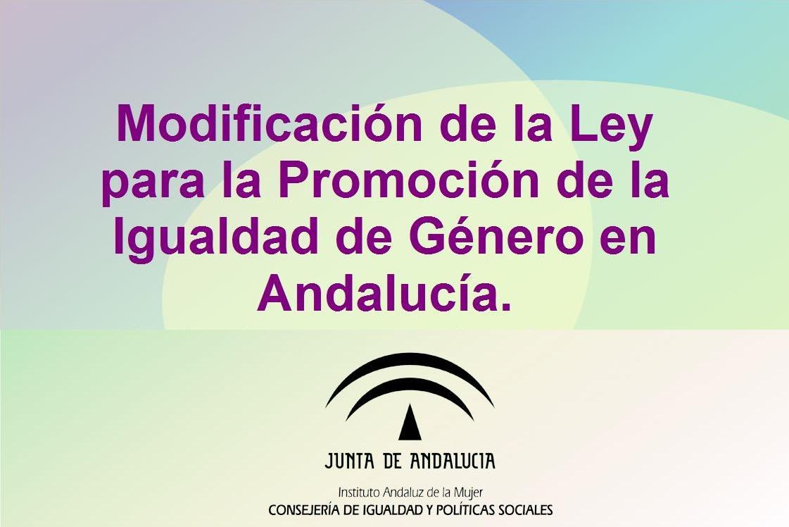Ley 9/2018 modificada para la Promoción de la Igualdad de Género